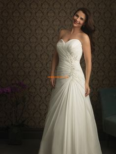 Frühling 2014 Chiffon Elegant & Luxuriös Brautkleider 2014
