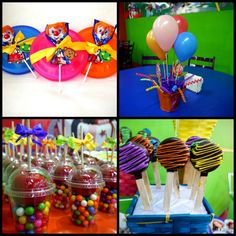 Colorful Party Ideas