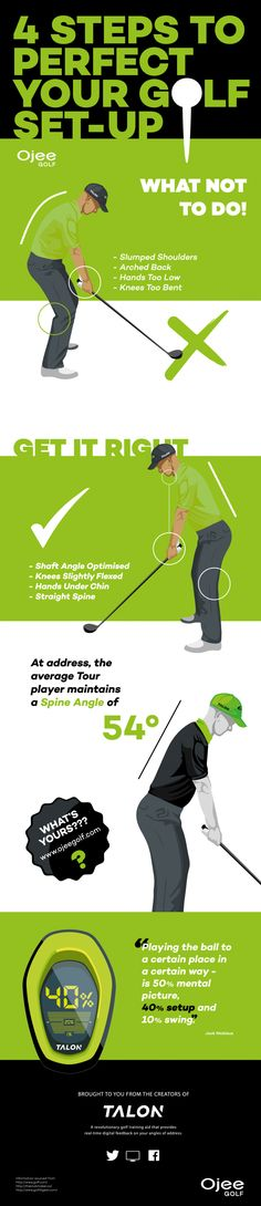 4 Steps to perfect your golf set-up