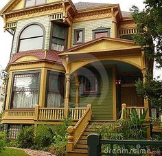 Victorian Houses in California | Newly redecorated victorian house San Jose California, tasetful ...