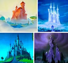 The Castles/Palaces/Temples of Disney