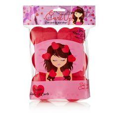 NPW Heart Sponge Hair Rollers Damp Curlers Styling Tools Cute Curls in YR Sleep for sale online Sponge Hair Rollers, Hair Sponge, Wavy Curls, Gadgets, Heart Hair, Roller Set, Curlers, Styling Tools, Amor