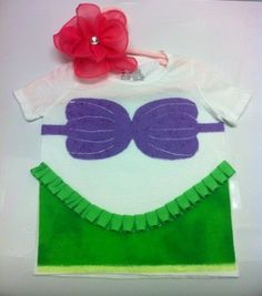 DIY Disney Inspired Princess Ariel Shirt