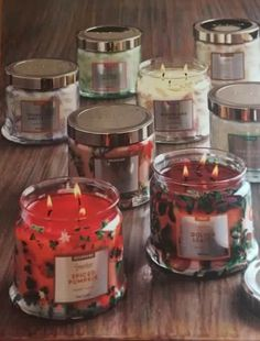3 wick jars NEW to 2016 Independent Consultant www.partylite.biz/mrsbsluminaries