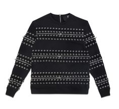 ZIPPER LACE-UP SWEATSHIRT from HOOD BY AIR