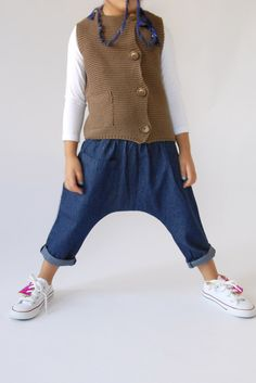 the   posh   pant - WUNWAY - I feel like these pants have no inseam and would thus be really easy to make?