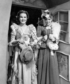 Deanna Durbin and Anne Gwynne - Spring Parade (1940)