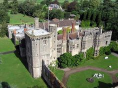 Thornbury Castle, the only castle in England which has been converted into a hotel!
