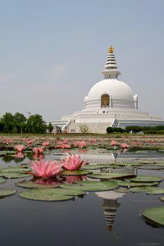 """World Peace Pagoda"", Lumbini, Nepal"