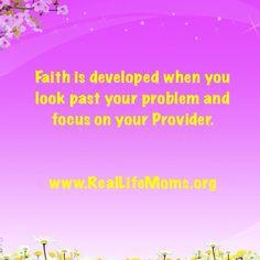 Faith www.reallifemoms.org