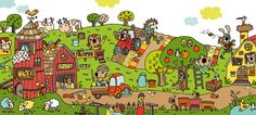 praatplaat kleuters boerderij