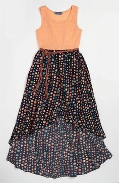 Truly Me Maxi Dress (Little Girls & Big Girls) available at #Nordstrom