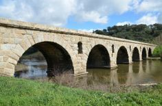 Roman Bridge, Ponte da Vila Formosa (Illustration) -- Ancient History Encyclopedia