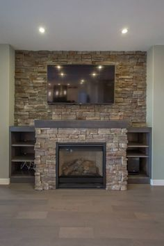 Stone Built Fireplaces new construction, indoor fireplace, stone fireplace, built-ins