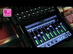 Fantastic new ipad mixer from Mackie