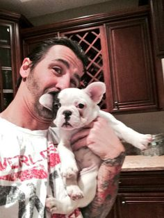 Sully Erna got a puppy. Her name is Jazz!!