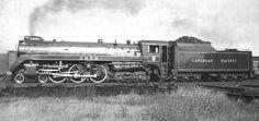 Richard Leonard's Random Steam Photo Collection -- Canadian Pacific 4-6-4 2856
