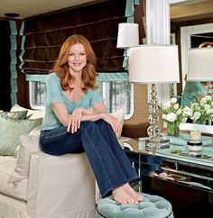 Marcia Cross' Airstream