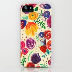 Summer Fruits Floral iPhone & iPod Case
