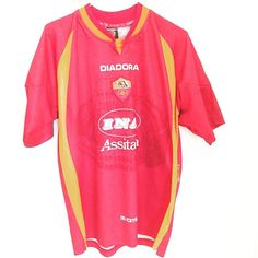 1997-98 Roma Home Shirt M 55 - 1 left. In store now. Link in bio #asroma #roma #footballshirtcollective
