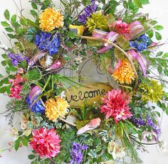 Welcome To My Garden, Instructional, How-to DVD Set, How to Make Your Own Beautiful Spring/Summer Wreath, Video