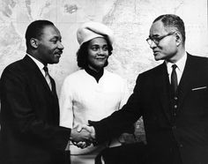 Here's information about how Martin Luther King, Jr. and Coretta Scott met, their