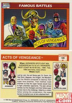 Make Mine Marvel - Marvel Universe Trading Cards Series 1 [1990]