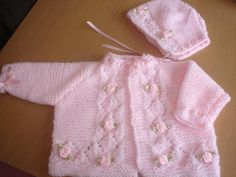 PRETTY in PINK baby girls Rosebud jacket and by xxdaisychainsxx, $20.00
