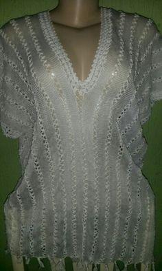 Blusa de renda e crochê  Aceito encomendas lnahorny@gmail.com http://