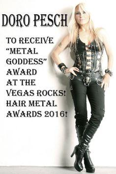 Scorpions, Doro Pesch To Be Honored At First Annual Vegas Rocks ... Heavy Metal Girl, Heavy Metal Rock, Heavy Metal Music, Heavy Metal Bands, Ladies Of Metal, Rock Hairstyles, Lita Ford, Joe Bonamassa, Women Of Rock