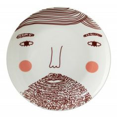 beardy man plate ++ #nesthappyhomes http://www.youtube.com/watch?v=vLmFSloPmk8