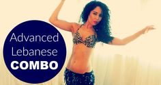 Free belly dance classes: Advanced Lebanese belly dance combination
