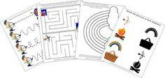 Lag B'Omer Activity Pack for Preschoolers