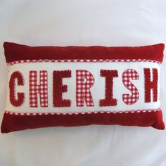 Cherish Scatter Cushion  £18.00