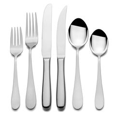 This 79-piece silver flatware set includes every eating utensil you need in your kitchen. Each piece is made of premium stainless steel and has a polished finish for added beauty. You can serve up to 12 dinner guests, and the set is dishwasher-safe.