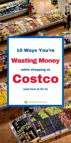 Bad news: You're almost certainly wasting money on groceries at Costco. Don't worry though, we've rounded up the ten most common mistakes people make when they go food shopping and our easy solutions for cutting out these bad habits Ways To Save Money, Money Tips, Money Saving Tips, How To Make Money, Budget Planer, Financial Tips, Financial Peace, Shopping Hacks, Costco Shopping