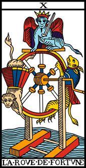 Wheel of Fortune - Camoin Tarocchi di Marsiglia
