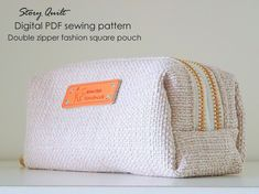 easy to sew bag pattern, handbag pattern, purse pattern, quilted bag, pouch pattern, card holder, sewing pattern, sewing tutorial, digital pdf, tutorial, Story Quilt, long wallet, wallet for women, pattern pile, zipper purse, zipper pouch, zip wallet, minimalist wallet, cute pouch, women wallet, women pouch, gift idea