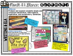 Great ideas for writing in November!