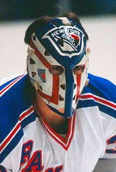 The National Hockey League (NHL) pits 30 teams who play against each other throughout the regular season in North America with the goal of earning a playoff Rangers Hockey, Ice Hockey Teams, Hockey Goalie, Hockey Stuff, Nhl, Hockey Season, Goalie Mask, Different Sports, Masked Man