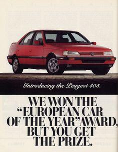 1988 Peugeot 405 Mi16