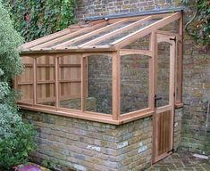 Greenhouses by Woodpecker Joinery 8ft x 6ft lean to greenhouse