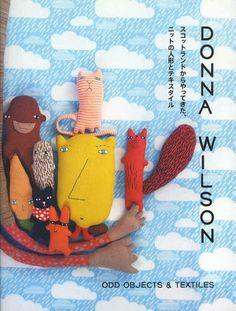 ODD OBJECTS & TEXTILES - Scotland textile doll knit - Donna Wilson