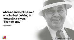 Quote #104 – Emilio Ambasz
