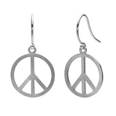 Peace Earrings by James & Lily $40.00