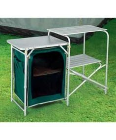 folding camping table kitchen - Camping Kitchen Tables