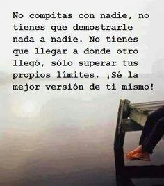 Siempre he pensado q nadie es competencia solo hay q superar nuestros miedos! http://www.gorditosenlucha.com/
