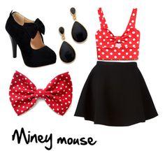 """Miney mouse"" by libbyweitkamp on Polyvore"