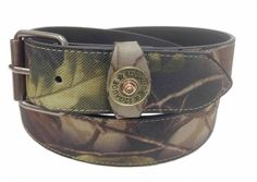 12 GAUGE SHOTGUN SHELL HAND LACED LEATHER CONCHO DRESS CASUAL JEAN BELT NEW
