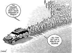 Charlie Hebdo : ils voulaient anéantir la liberté d'expression…
